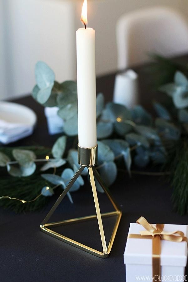 Tischdeko Weihnachten selber machen