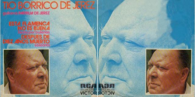 """TÍO BORRICO DE JEREZ"""" RCA 1974 SG"""
