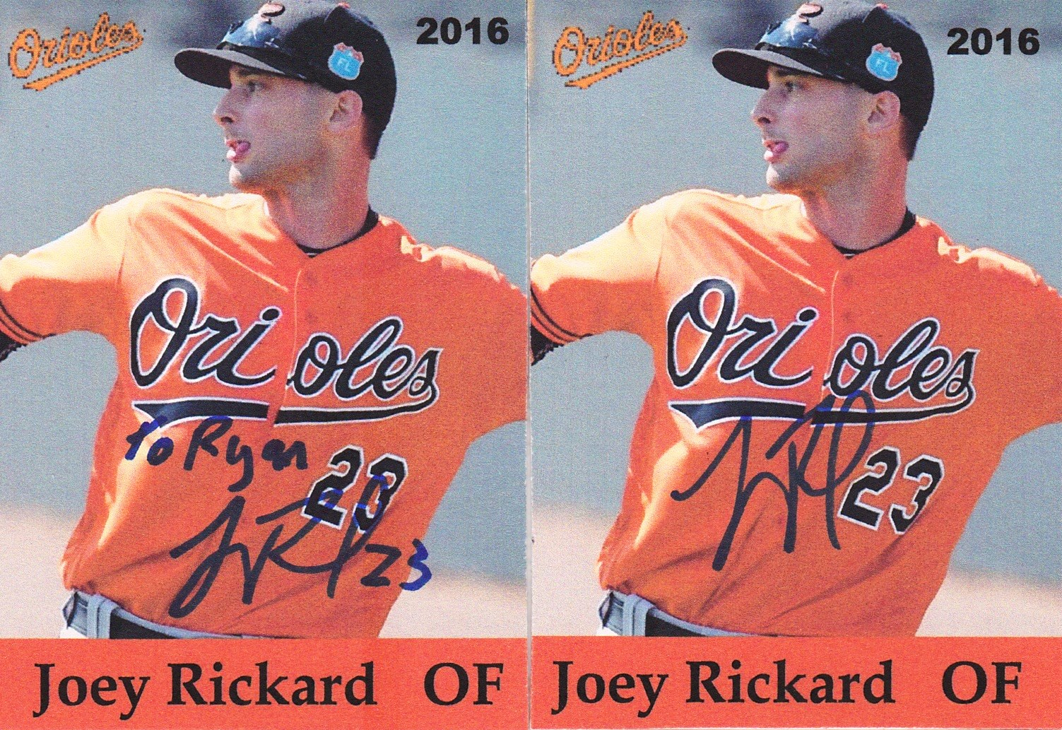 c69baaf19 The Great Orioles Autograph Project  Orioles Spring Training Phenom ...