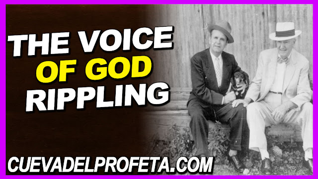 The Voice of God rippling - William Marrion Branham Quotes