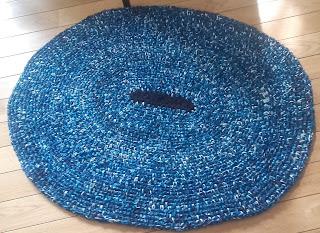 dywanik na szydełku