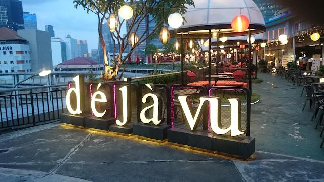 Dejavu Roof Top Garden Cafe in Jakarta