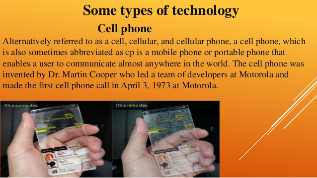 if cell phones were not invented