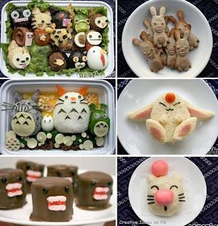 bekal dan snack berbentuk hewan yang lucu