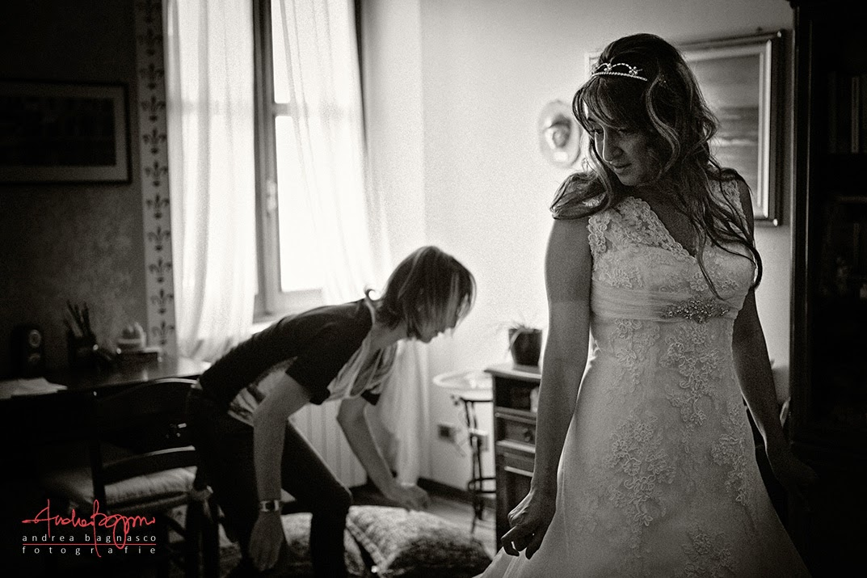 vestizione sposa matrimonio Millesimo