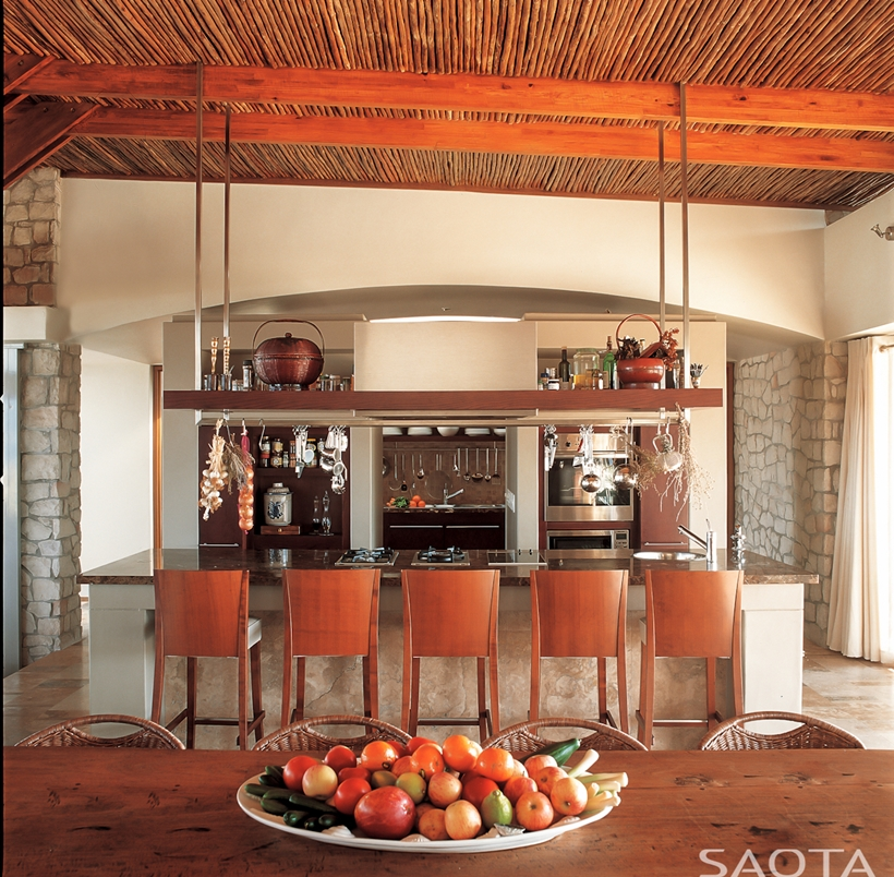 Rustic Spanish Style Sea Island House: World Of Architecture: Rustic Beach House By SAOTA