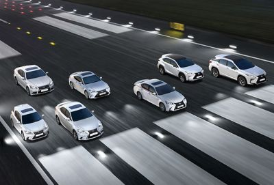 Gama F Sport Lexus