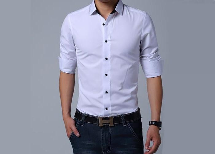 4a6f80da42 Camisa Slim Fit en Abancay