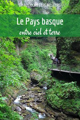 Des gorges de Kakuetta à la passerelle d'Holzarte, un voyage au cœur du Pays basque, entre ciel et terre.