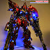 "Custom Build: MG 1/100 Sinanju Ver. Ka ""Destroy Mode"" with Full LED Function"