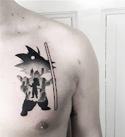 tatuaje son goku 2018