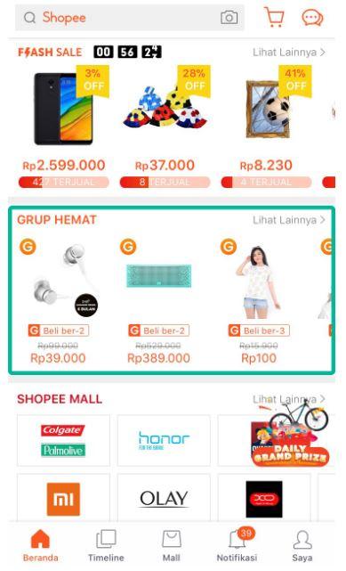 Download Wallpaper Cara Membuat Grup Di Shopee