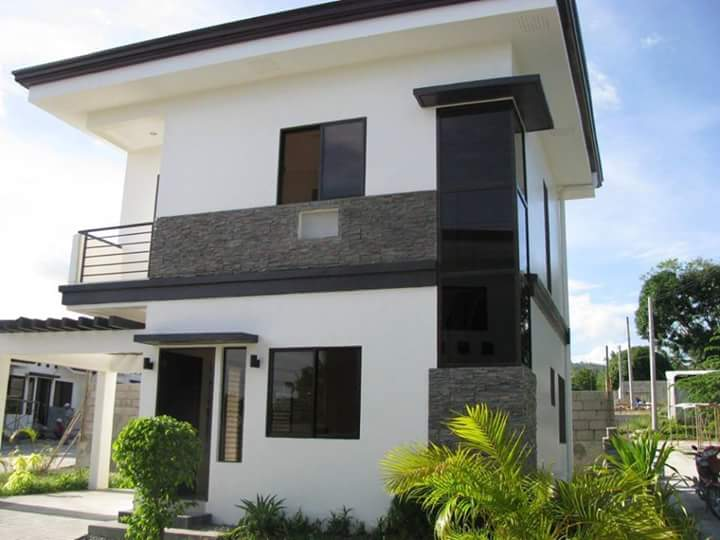2 story house photos in the philippines bahay ofw for Cheap 2 story houses
