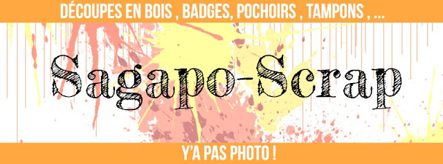 Sagapo-Scrap : Le blog !
