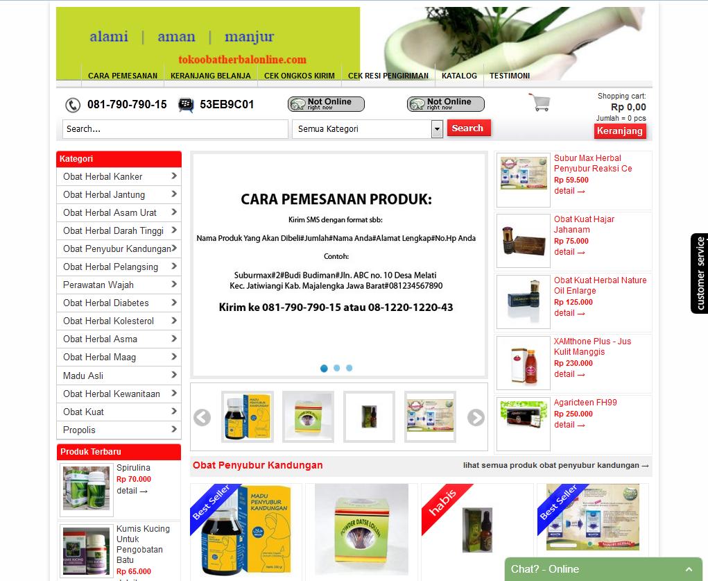 Mengapa Belanja di Situs TokoObatHerbalOnline.Com?