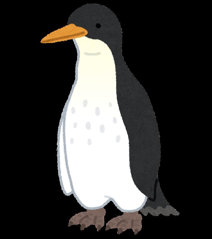 ジャイアントペンギンのイラスト