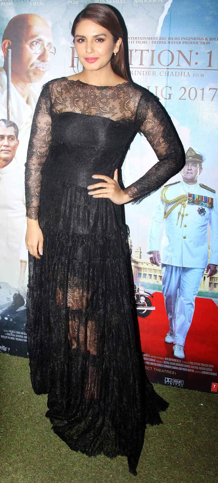 Huma Qureshi at Special Screening of Partition 1947