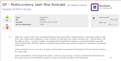 Feature of the Day: Multicurrency Apply in RM Cash Receipts