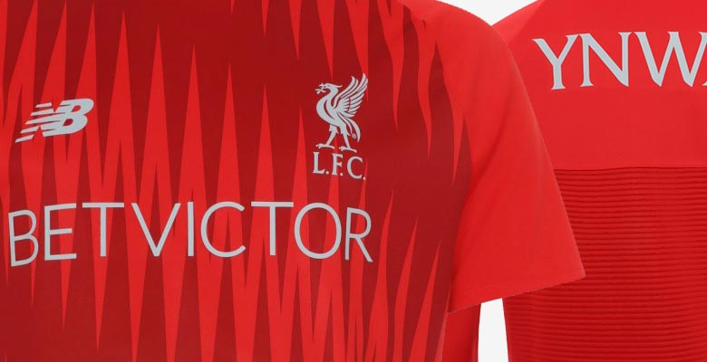 3c5ac826f02 Liverpool 18-19 Pre-Match and Training Kit Revealed - Footy Headlines