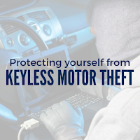 Protecting yourself from the rise of keyless motor theft