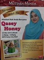 QASEY HONEY DI MPH SETIA ALAM 25 MEI 2015