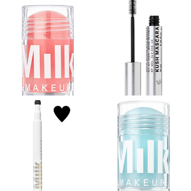 Milk Cooling Water Stick || Milk KUSH High Volume Mascara || Milk Tattoo Stamp || Milk Watermelon Brightening Serum Stick ||
