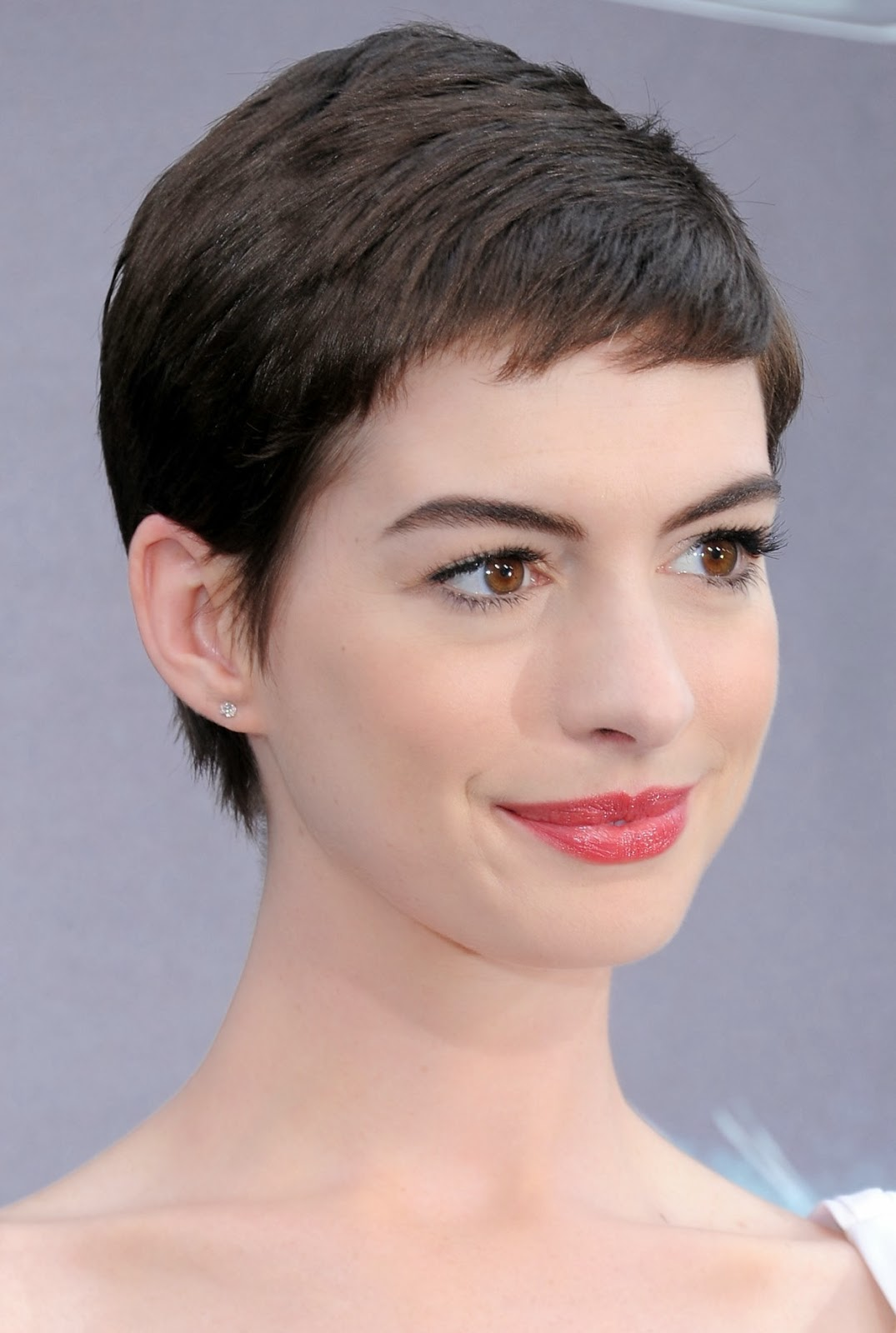Celebrity Pictures Anne Hathaway Hair Photos-2367
