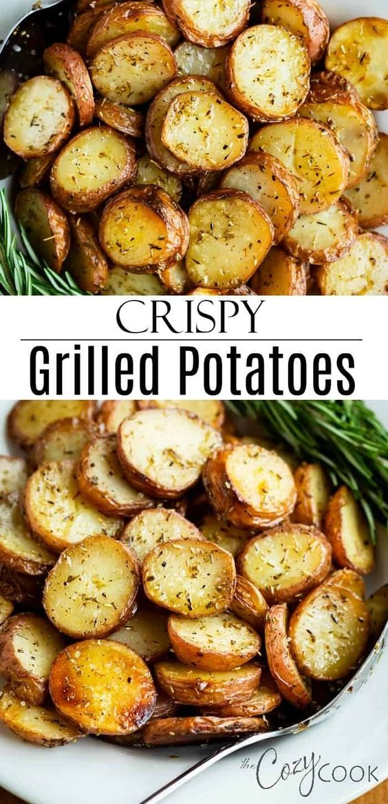 Grilled Rosemary Potatoes