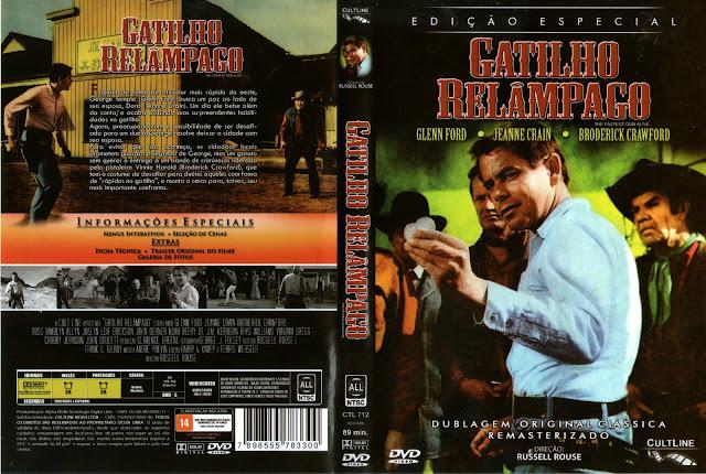 Capa DVD Gatilho Relâmpago