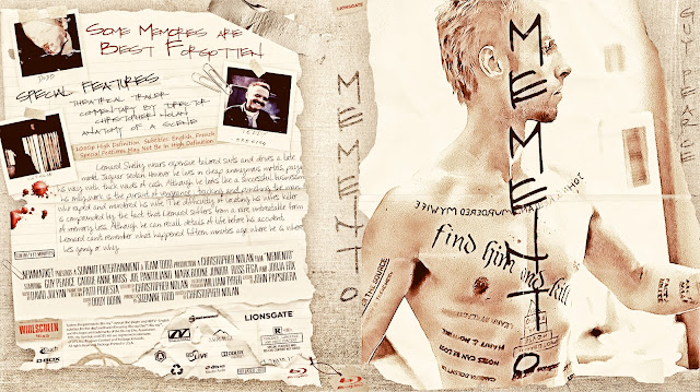 Memento Bluray Cover