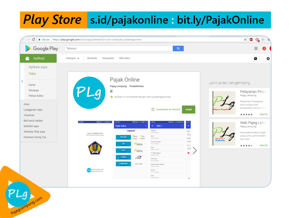 Pajak Online: Aplikasi Pajak Online