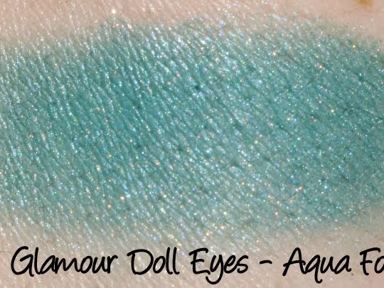 Glamour Doll Eyes Eyeshadows Swatch Masterpost