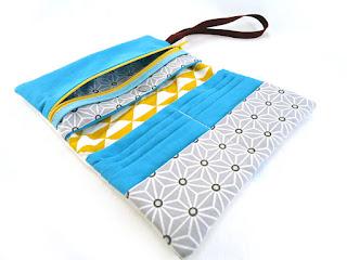 portefeuille original fait main