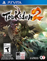 Toukiden 2 game PS Vita cover