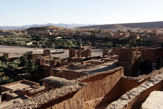 Vistas desde uno de los miradores de la Kasbah de Aït Ben Haddou