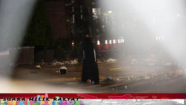 Misteri Perempuan Serbahitam Di Aksi 22 Mei, Ini Penjelasan Kabid Humas Polda Metro Jaya Kombes Argo Yuwono