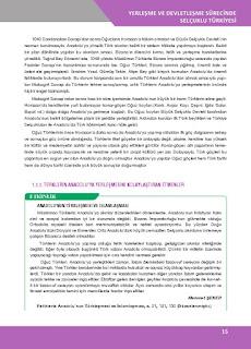 10. Sınıf Tarih Ders Kitabı Cevapları İlke Yayınları Sayfa 15