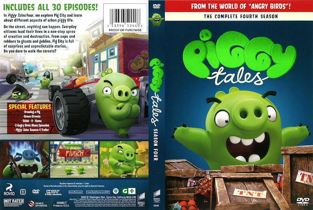 Piggy Tales Season 4 DVD Cover