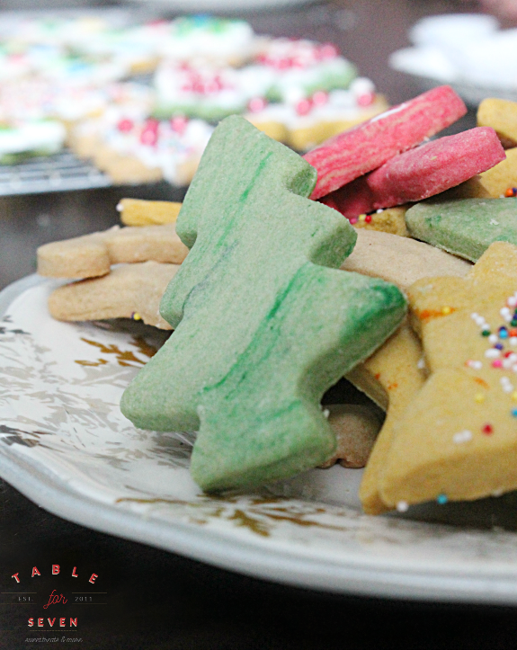 Three Ingredient Butter Shortbread Cookies #FantasticalFoodFight