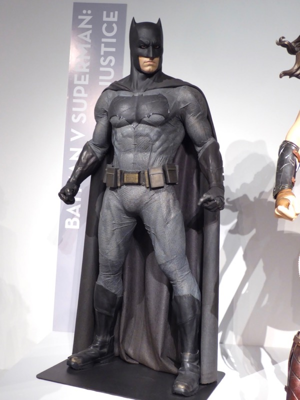 Ben Affleck Dawn of Justice Batman movie costume