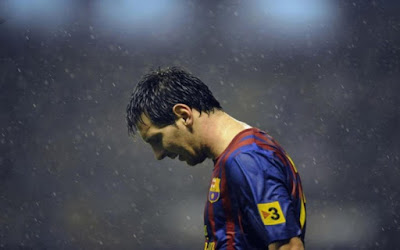 Impressive Lionel Messi HD wallpaper photograph