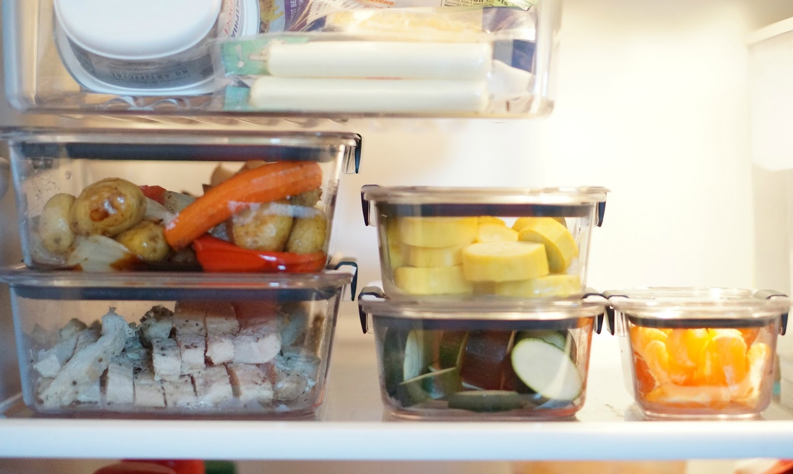 Rebecca Lately Rubbermaid® BRILLIANCE™ Meal Prepping Tips