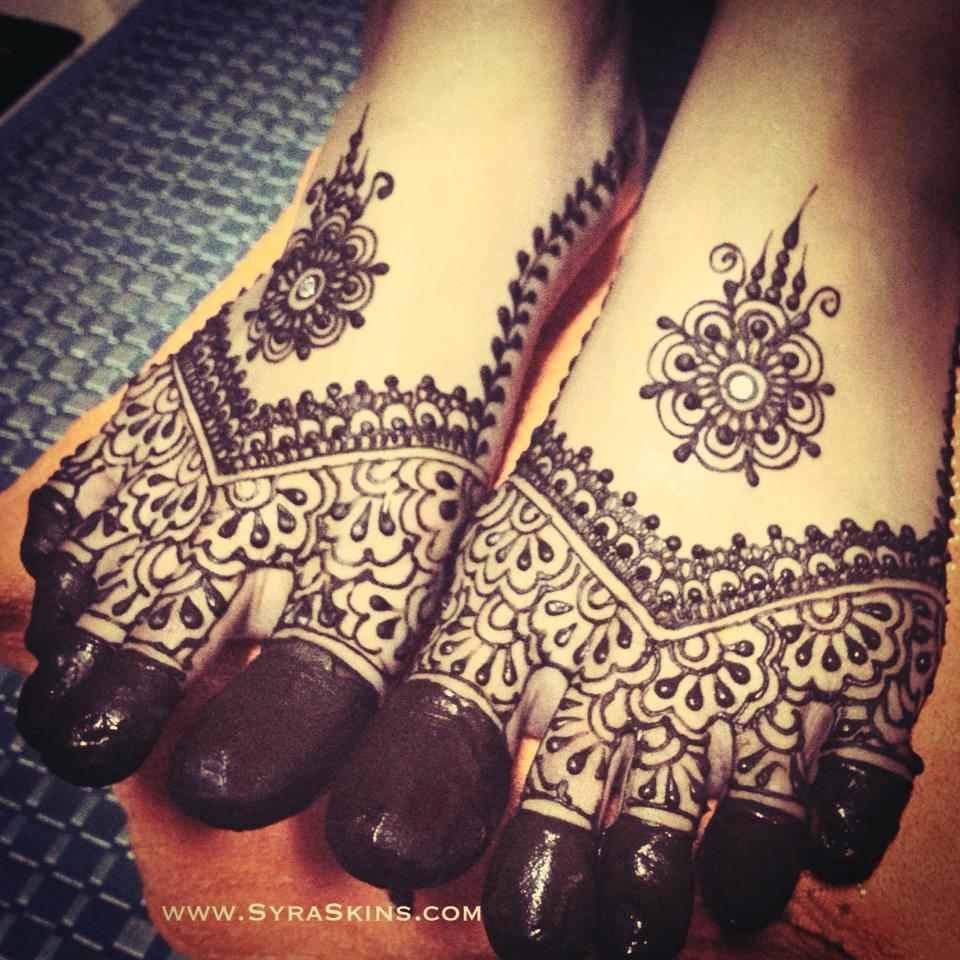 Gambar Henna Untuk Jari Balehenna