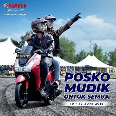 Posko Mudik Yamaha