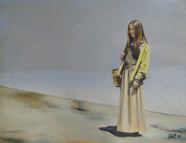 Antoni Taulé arte pintor catalán pintura surrealista figurativa feminina