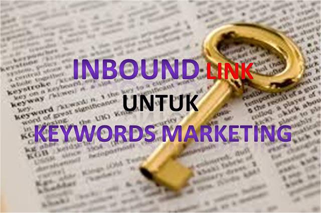 cara mendongkrak blog dengan inbound link keywords