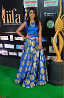Madhu Shalini Looks Super Cute Slim trim Blue Choli Ghagra IIFA Utsavam Awards 23.JPG