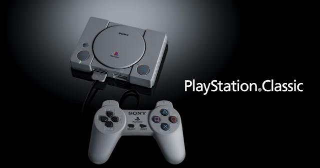 Sony lanzará una retro consola de videojuegos en Diciembre |  PlayStation Clásico