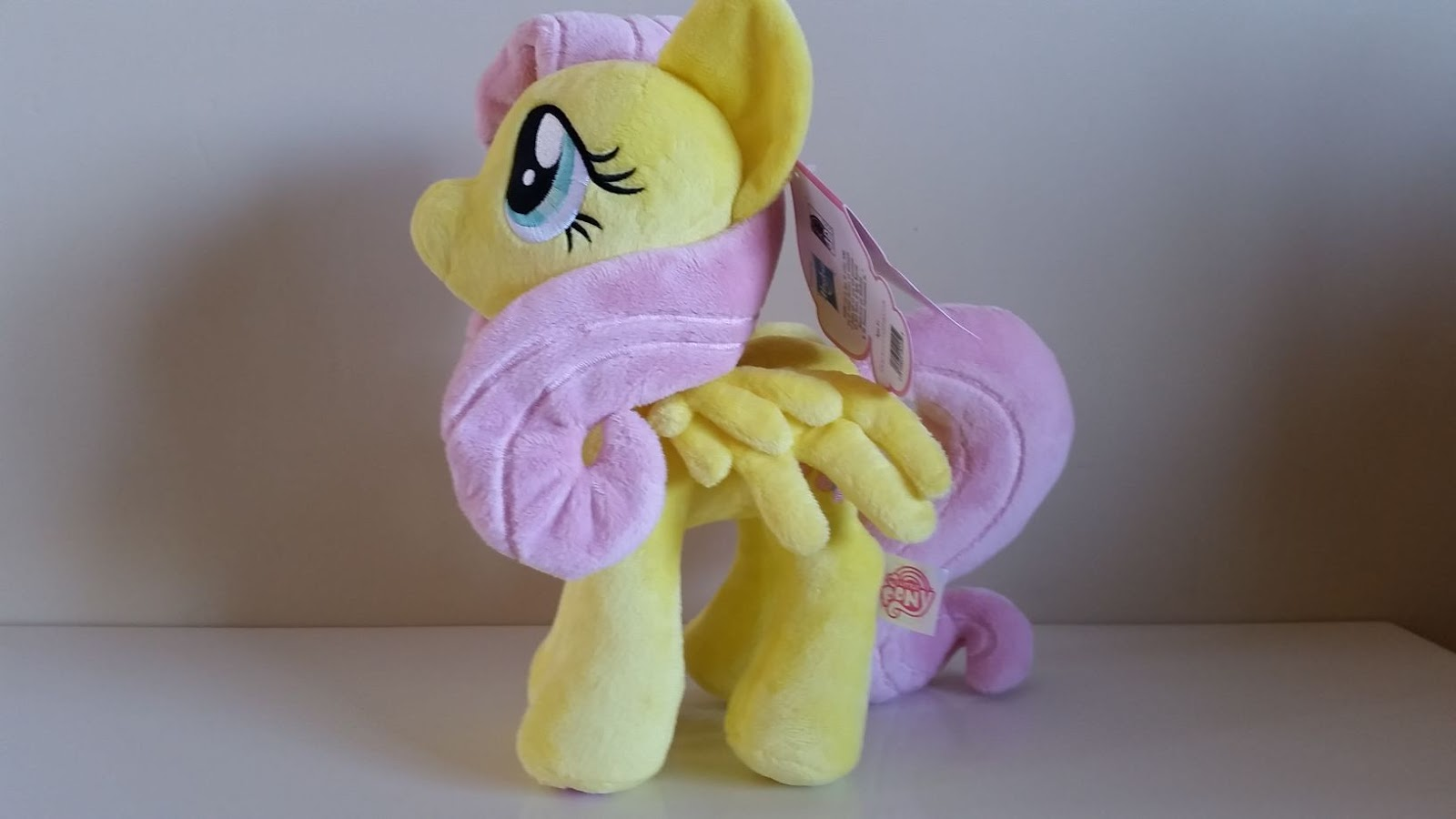 17785856f4c Equestria Daily - MLP Stuff!  Review  4th Dimension Fluttershy Plushie