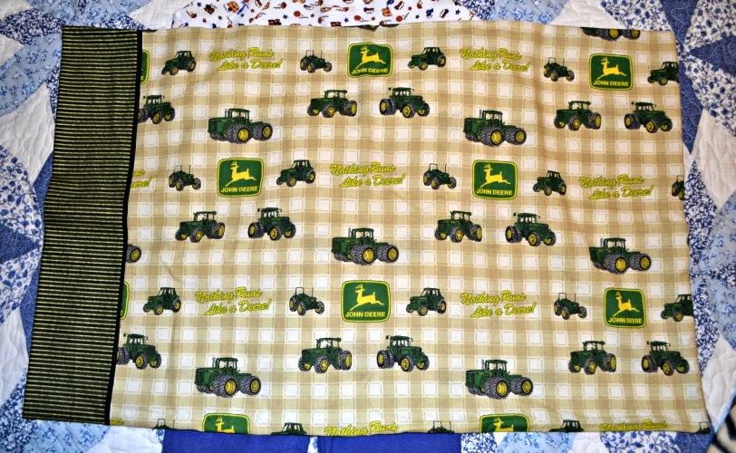 stampwithtrude.blogspot.com John Deere pillow case